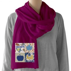 Ladies Fall Fleece Scarf
