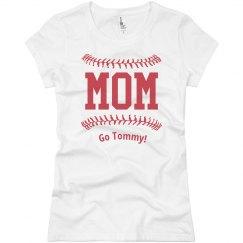 Baseball Stitches Mom