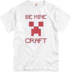 Be Mine Craft Valentine's Day Tee