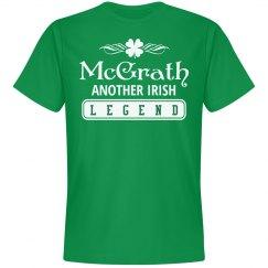 McGrath another Irish legend clan
