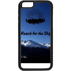 Reach for the Sky phone case