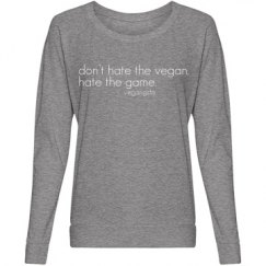 hate the game... slouchy top