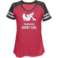 Custom Roller Derby Women Shirt
