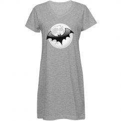 Bat & Full Moon
