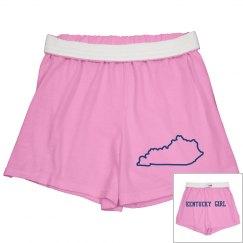 Kentucky girl shorts
