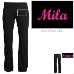 Mila, yoga pants