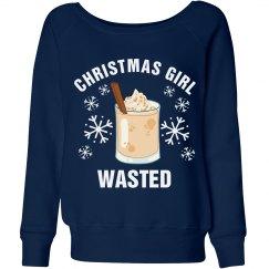Christmas Girl Wasted
