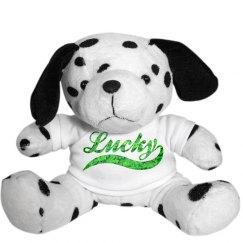Irish Lucky Plush Bear