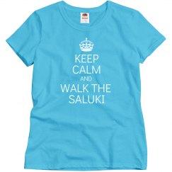 Walk the saluki