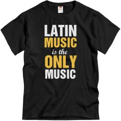 Latin music only music
