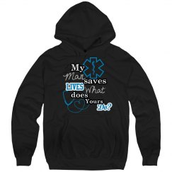 Saves Lives-EMS (hoodie)