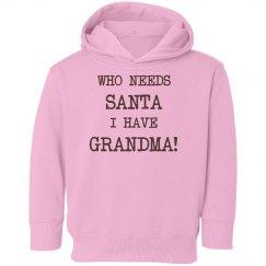 Who needs Santa!