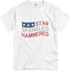 Star Spangled Hammered 4thofJuly