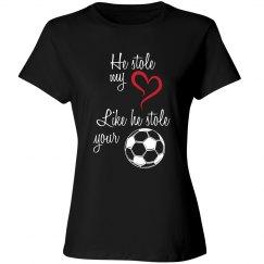 Soccer Mom - stole heart