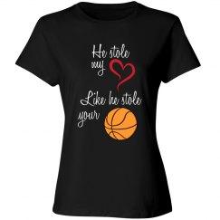 Basketball Mom - stole heart