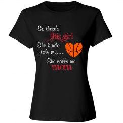 Basketball mom - stole heart gir