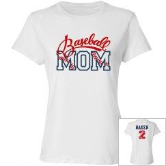 Baseball Mom - Enter name and # on back
