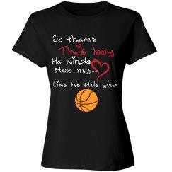 Basketball Mom - Stole Heart and Ball