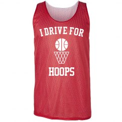 I drive for hoops