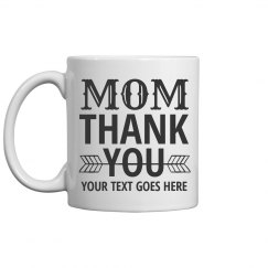Custom Text Mothers Day Gifts