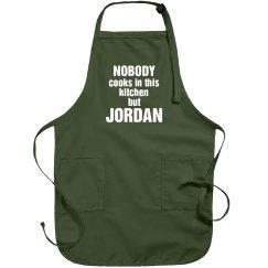 Jordan is the cook!