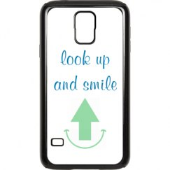look up and smile case