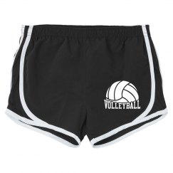 woman volleyball short