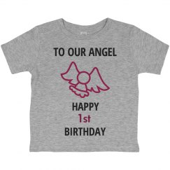 To our angel who is 1