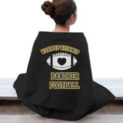 Football Blanket (Black)
