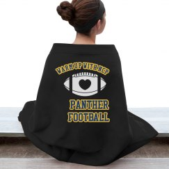Football Blanket (Black)