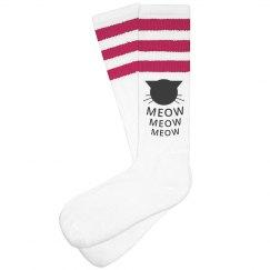Meow Cat Socks