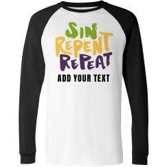Mardi Gras Sin Repent & Repeat