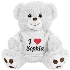 I love Sophia