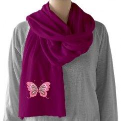Pretty Butterfly Scarf