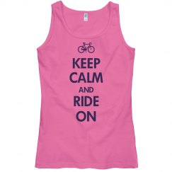 Keep Calm & Ride On