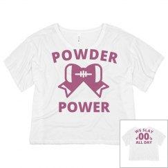 Custom Powder Puff Neon