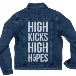 High Kicks Dance Denim Jacket