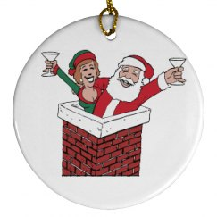Santa Clause Ornament