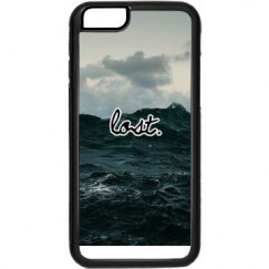 """lost"" ocean phone case"