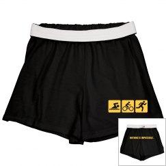Triathlon Shorts w/Back