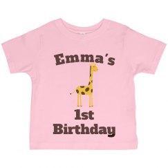 Emma's 1st birthday