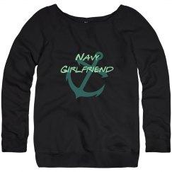 Navy Girlfriend sweater