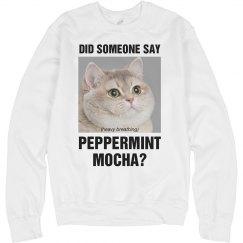 Peppermint Mocha Kitty
