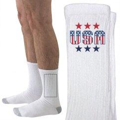 Proud and Patriotic Socks