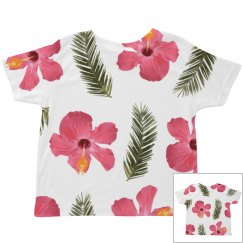 Tropical Flower Toddler Print