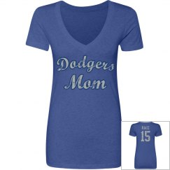 Dodgers Mom t-shirt