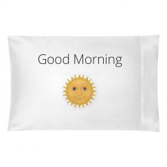 Good Morning Pillow