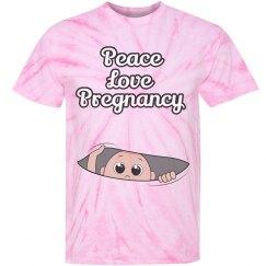 Peace Love Peek-A-Boo