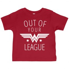 Out of Your League Wonder Girl