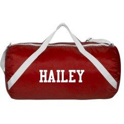 custom sports bag